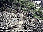 點一下即可放大預覽 -- SRU SR-Q M4 GBB專用 戰術握把+槍托組~沙色