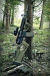 點一下即可放大預覽 -- SRU SR-Q M4 GBB專用 戰術握把+槍托組~綠色