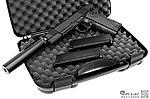 [滅音加速版]~雙彈匣 警版~WE M1911 全金屬瓦斯槍,手槍,BB槍(附硬殼槍箱)~130m/s