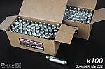 點一下即可放大預覽 -- 警星 GUARDER 12g CO2 小鋼瓶(100支裝)