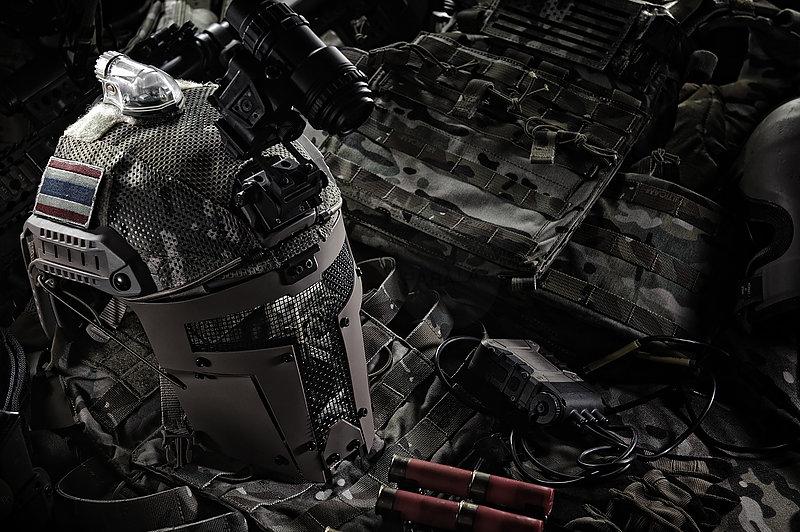 沙色 TMC SPT Mesh Mask 戰術面罩,斯巴達戰術面具 (TMC2671)
