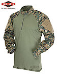 點一下即可放大預覽 -- 買就送 TRU-SPEC 亞洲版戰術襪 TRU-SPEC【數位迷彩,S號】1/4開口戰鬥任務服,混紡比50/50,青蛙裝