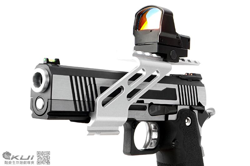 黑色~手槍滑軌魚骨專用 通用型金屬鏡橋,FSYF001 (通用 WE、HFC、SRC、KWC、KJ)