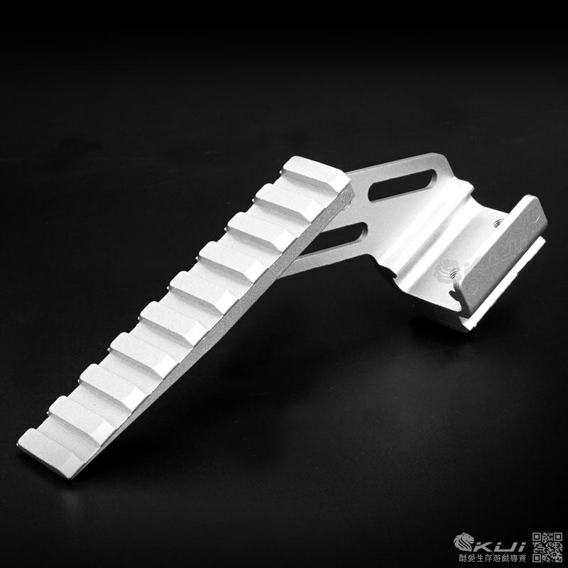 銀色~手槍滑軌魚骨專用 通用型金屬鏡橋,FSYF001 (通用 WE、HFC、SRC、KWC、KJ)