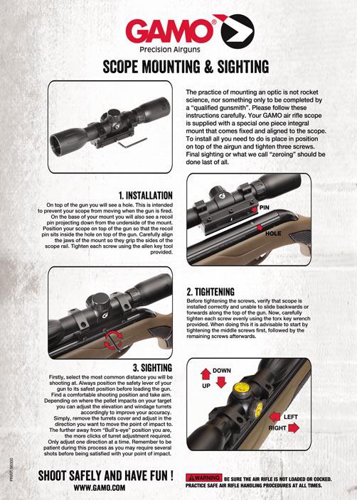 真品 總代理公司貨 GAMO 3-9X40 WR,3-9倍狙擊鏡 抗震(中折槍可用)