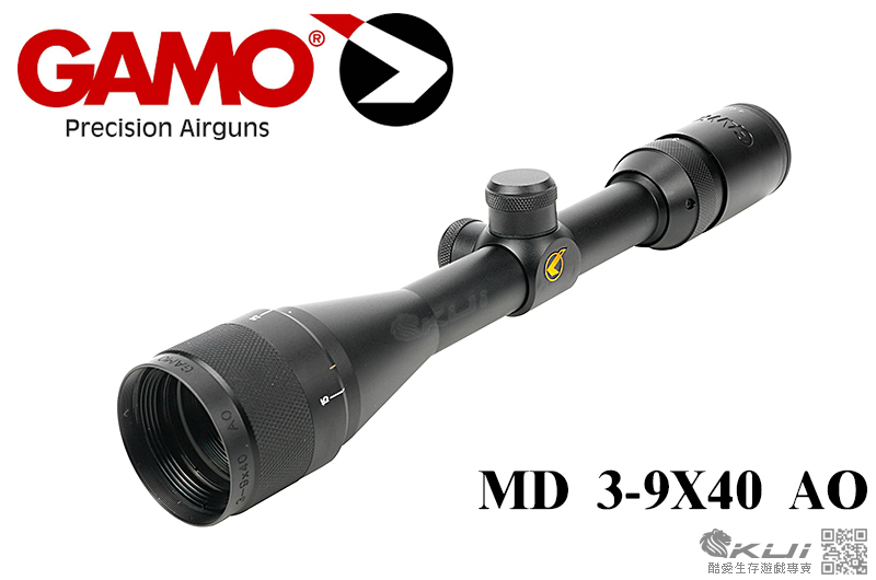 GAMO MD 3-9X40 AO,3-9倍狙擊鏡