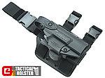 警星 G4 警用 Walther PPQ 腿掛式防搶槍套,UTX-FLEX強化材質,自由調整高低、鬆緊度