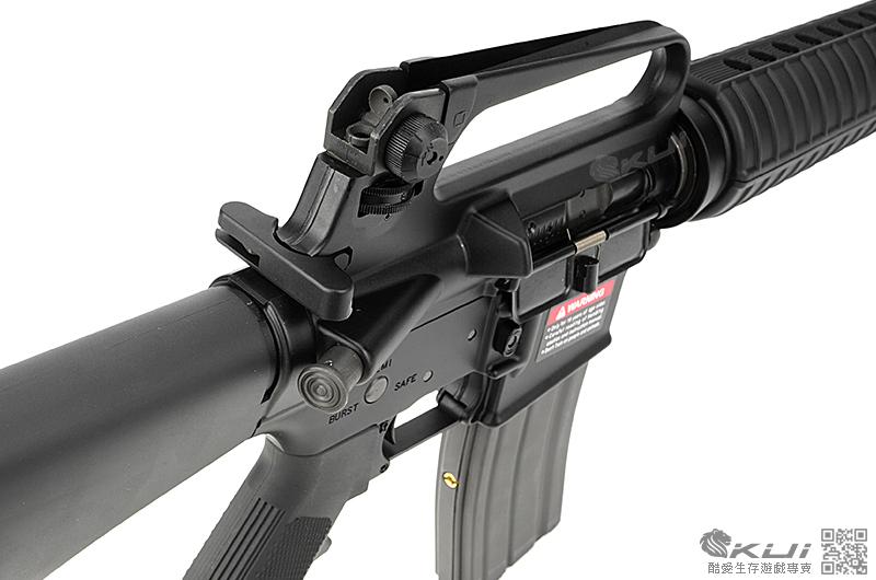 VIPER 毒蛇頂級鍛造槍-VIPER 毒蛇M16A2 GBB 突擊步槍Colt 小馬授權刻印