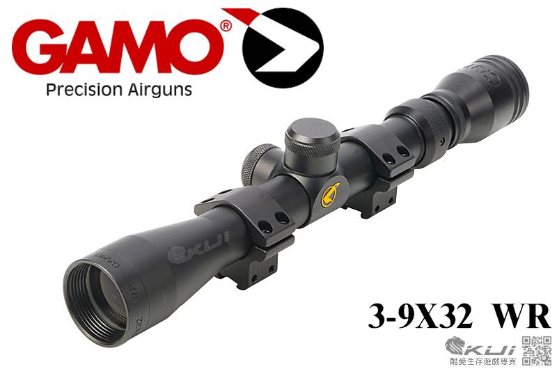 特價!限量優惠!真品 總代理公司貨 GAMO 3-9X32 WR,3-9倍狙擊鏡