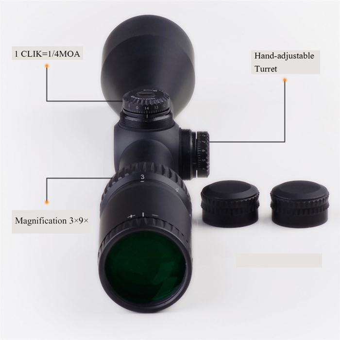 DISCOVERY 發現者 VT-Z 3-9X40 真品狙擊鏡,瞄具,瞄準鏡,抗震,高清晰,防水防霧
