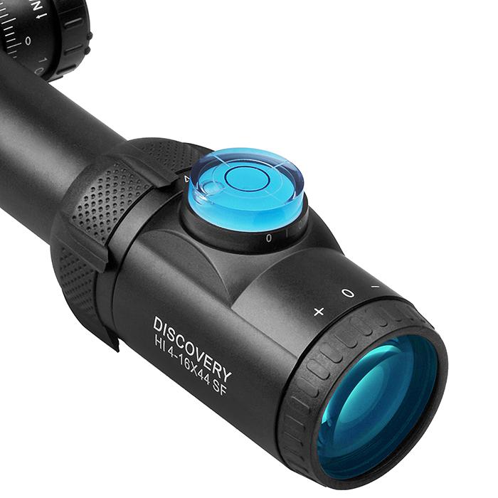 買就送水平儀~DISCOVERY 發現者 HI 4-16X44SF 真品狙擊鏡,抗震,高清晰,防水防霧,水平儀