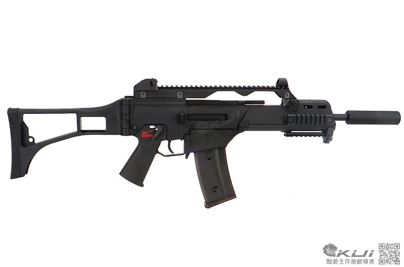 [LEONTAC 精密升級版]~滅音特戰造型~WE G36C G39C GBB 瓦斯槍,長槍~363mm精密管