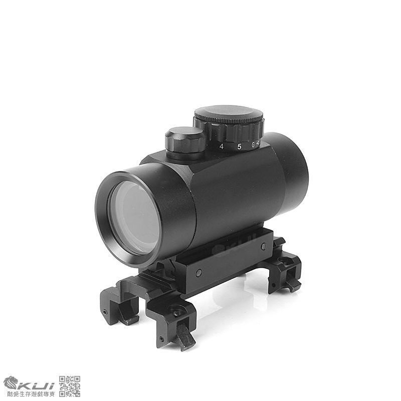 [MP5 G3 專用快瞄組]~1X40 RD 5段紅綠光 內紅點快瞄鏡(附鏡橋)