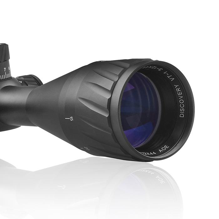 DISCOVERY 發現者 VT-1 3-12X44AOE 真品狙擊鏡,抗震,高清晰,防水防霧