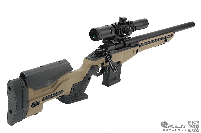 黑色 Action Army AAC T10 狙擊步槍 VSR系統 空氣槍