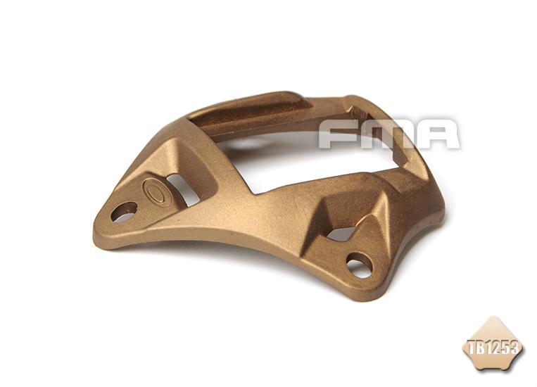 DE色~FMA 鋁製 墨魚干支架 頭盔配件 TB1253-DE