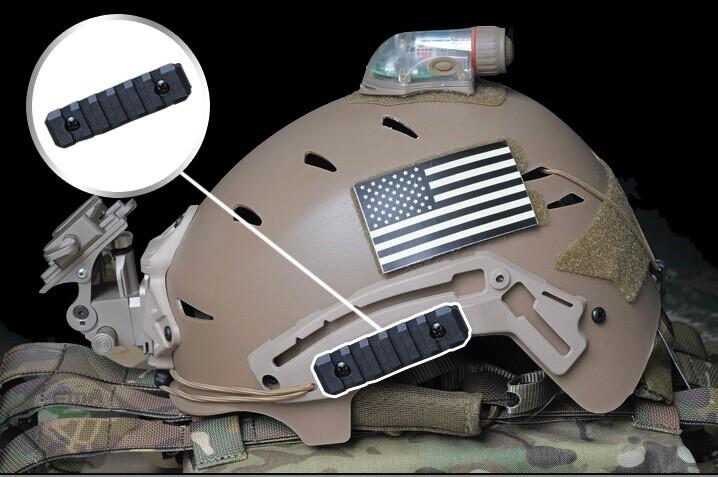 FMA 7.6CM 尼龍導軌 頭盔配件(4入) TB1033