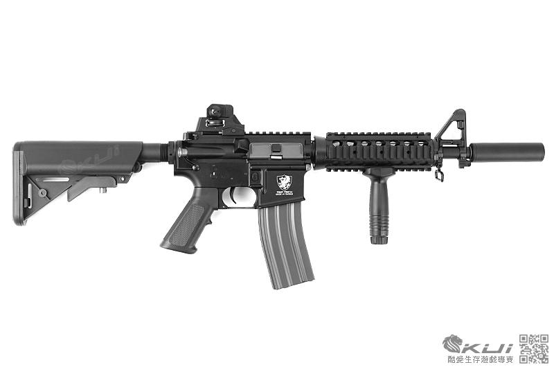 [LEONTAC 精密升級版] 滅音特戰造型~G&G 怪怪 TR4 CQB-S  全金屬電動槍,電槍