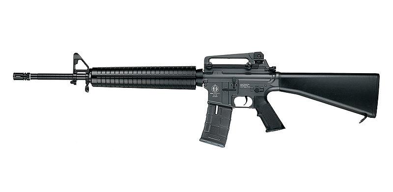 一芝軒 ICS CS16A3 M16 全金屬電動步槍,電槍(ICS-24)
