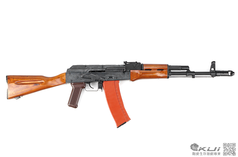 開放預購~WE AK-74 (AK 74) GBB 瓦斯氣動槍 鋼製槍身,實木槍托+護木