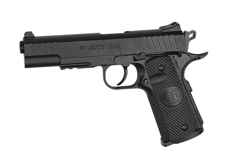 特價!ASG STI DUTY ONE CO2 直壓手槍,BB槍,短槍 (可操作滑套)