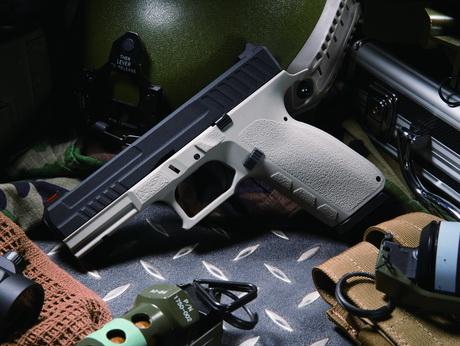 KJ KP13 瓦斯手槍 黑灰版 半金屬 滑套可動