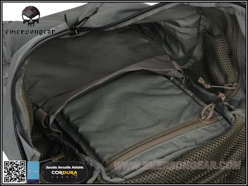 黑色~愛默生 EmersonGear Y型拉鍊城市突擊背包 BK500D,CORDURA,後背包,雙肩,旅行,登山 (非農場包)