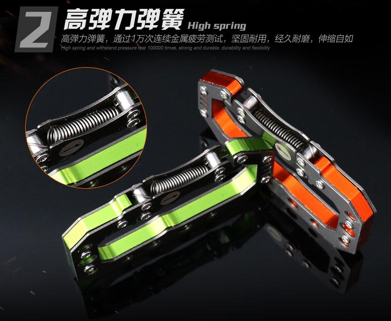 特價!軍綠~多功能 鋁合金快速掛勾,金屬扣,背包扣,登山扣,鑰匙扣 戶外潮流必備