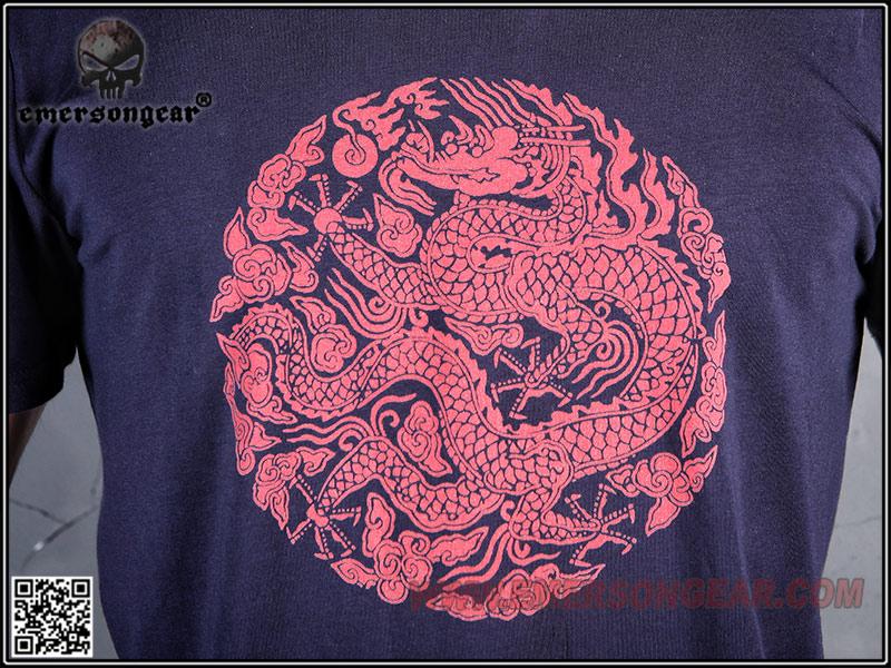M號~EMERSON 愛默生 東方龍經典 中國龍T恤