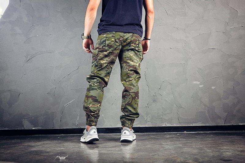 38腰 綠多地 ~EmersonGearS 愛默生 束腳工作褲/黑色拉鍊 MCTP