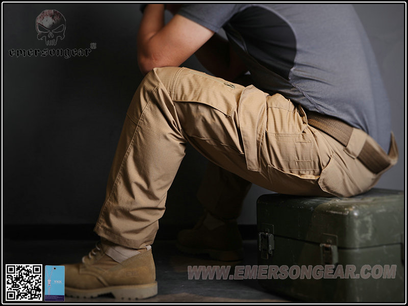 卡其色 32腰~EmersonGear 愛默生 全天候户外 戰術長褲