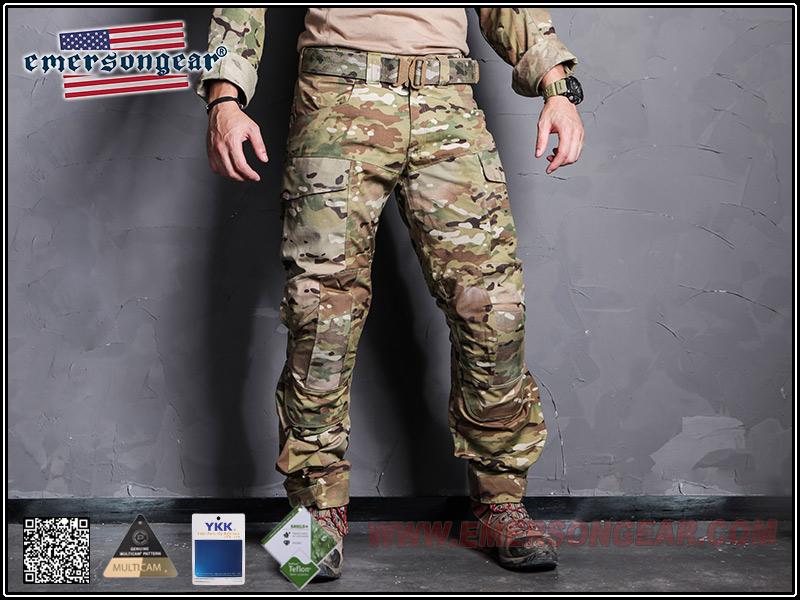 EmersonGear 愛默生【多地迷彩-32腰】藍標系列 突擊作戰長褲