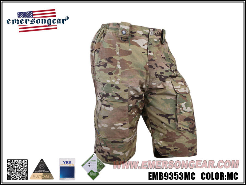 多地迷彩 32腰~EmersonGear 愛默生 藍標系列 人體工學戰術短褲