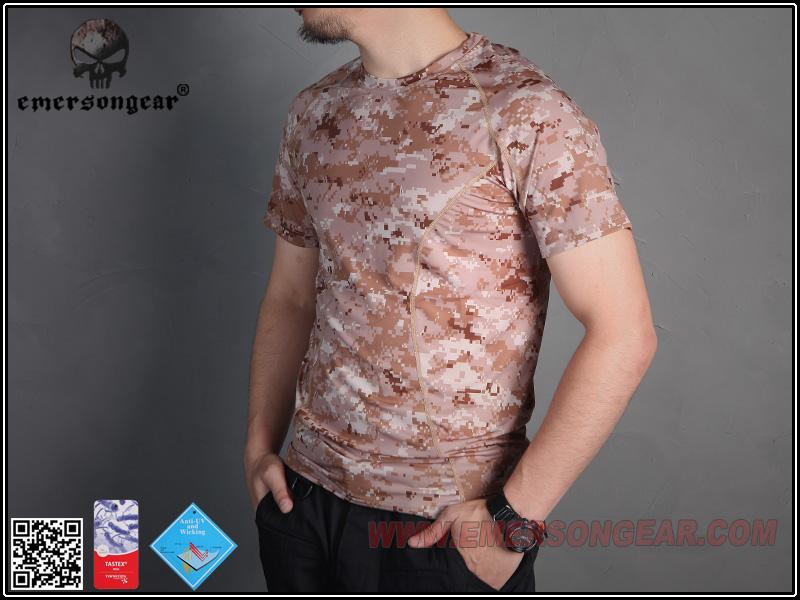 M號AOR1數位沙漠~EmersonGear 愛默生 迷彩速乾T恤 透氣排汗短袖T恤