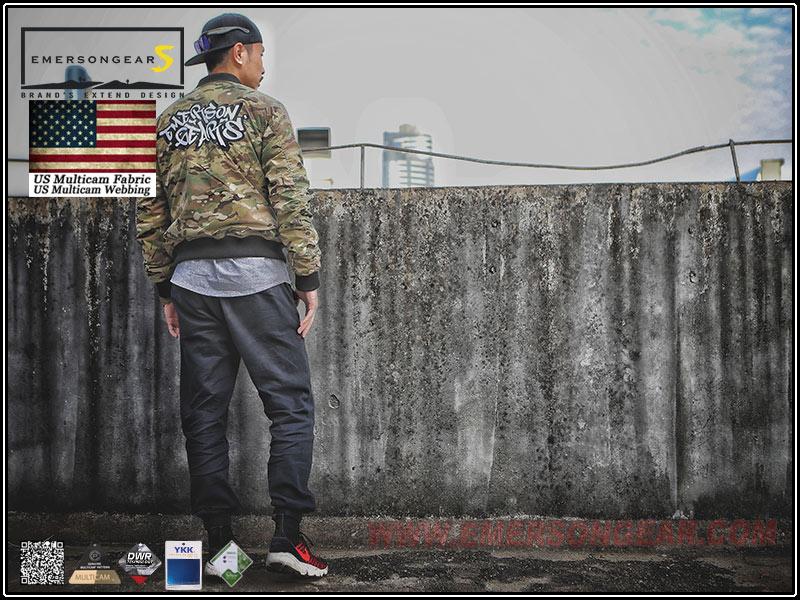 多地迷彩 M號~EmersonGearS 愛默生 MA1風格 極地夾克-男版