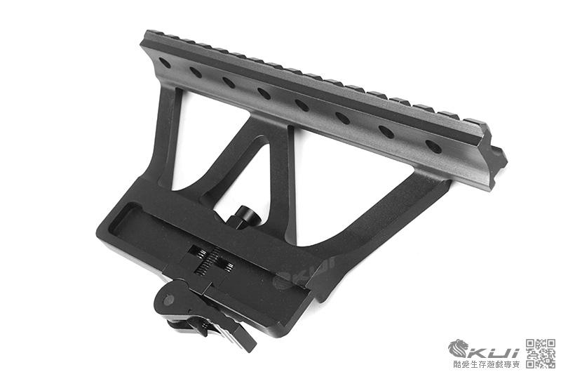 AK 快拆式 戰術 鏡橋魚骨 側鏡橋導軌,鏡座 SVD 鏡軌用 寬軌 戰術軌道 狙擊鏡