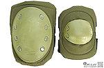 點一下即可放大預覽 -- OD綠色~護具組護膝、護肘,保護安全(自行車、單車、戶外運動、生存遊戲可用)