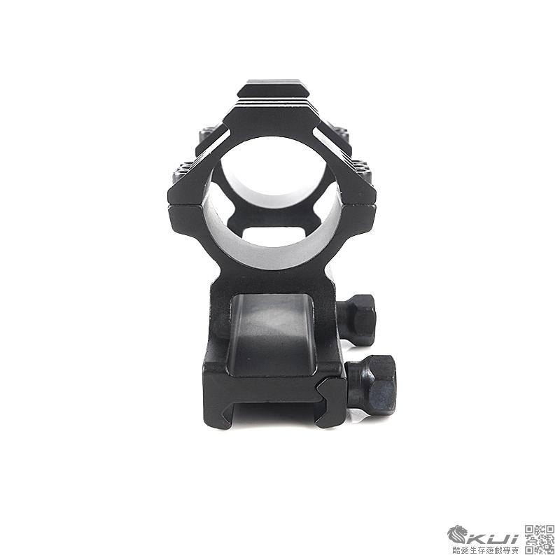 30mm 口徑 上魚骨狙擊鏡架 多功能一體式 連體夾具 鏡環 鏡架 鏡座 寬軌 戰術軌道