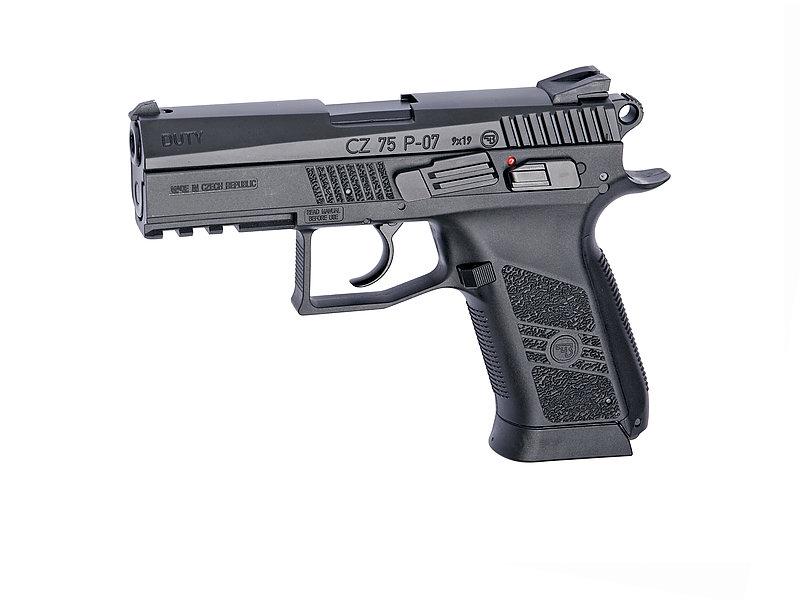 特價!ASG CZ75 P-07 Duty CO2 6mm 手槍,BB槍(滑套不可動)