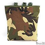 點一下即可放大預覽 -- 叢林迷彩(美軍大迷彩)~模組化彈夾回收袋,模塊式彈匣回收袋,雜物袋,掛包,收納包,收納袋,工具袋