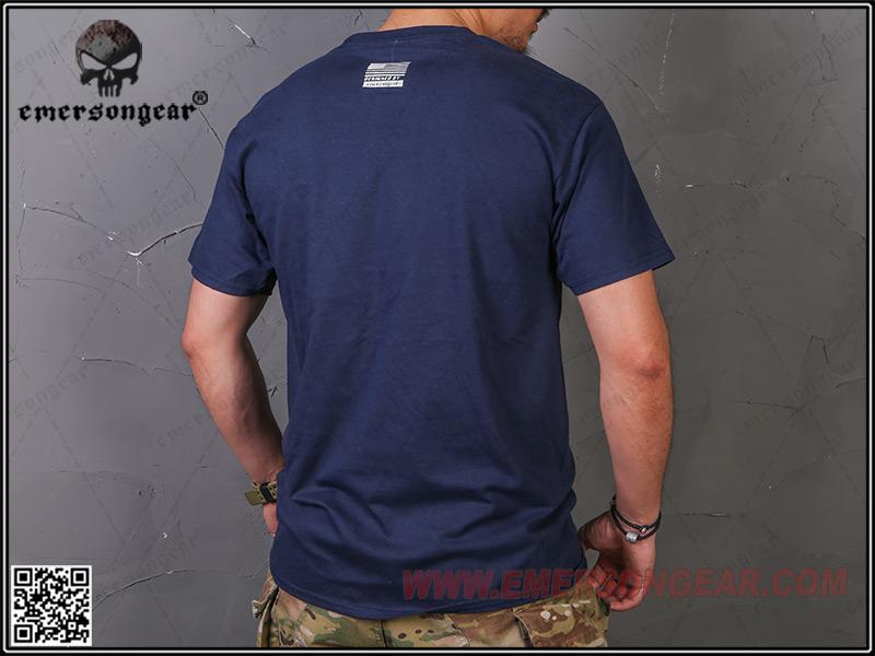 IPSC 靶紙 打靶 貝雷紅 L號~EmersonGear 愛默生 軍事文化T恤 短袖上衣