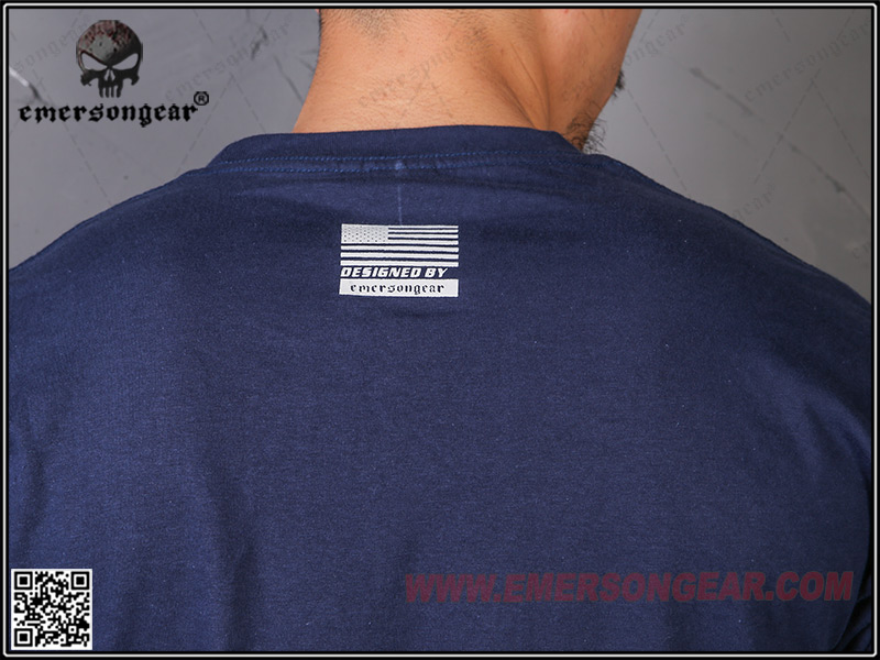 IPSC 靶紙 打靶 競技灰 L號~EmersonGear 愛默生 軍事文化T恤 短袖上衣