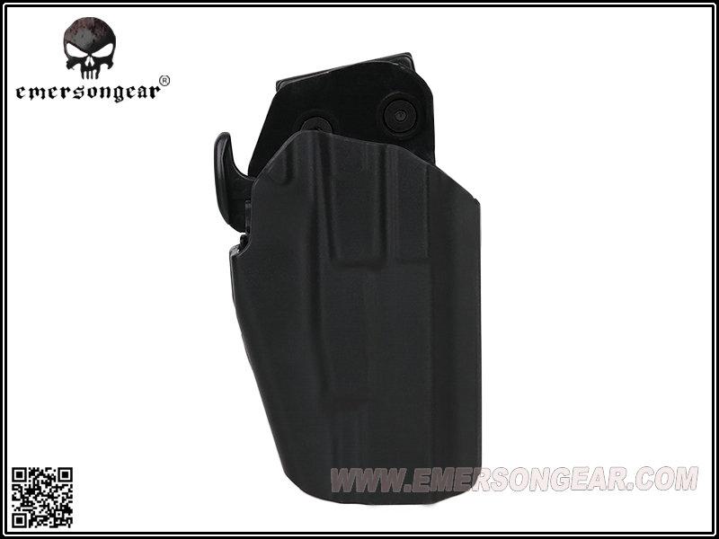 BK 黑色 愛默生 EmersonGear 579 通用型快拔槍套,硬殼槍套