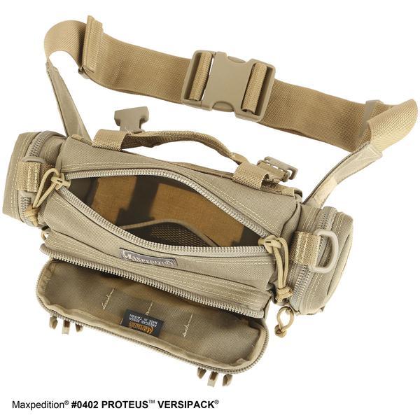 MAXPEDITION 黑色 Proteus 變形者機能側背腰包 工具包 斜背包 郵差包 急救包