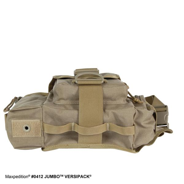 MAXPEDITION TAN 狼棕色 Jumbo (大)多功能側背鞍袋包 工具包 斜背包 郵差包 急救包