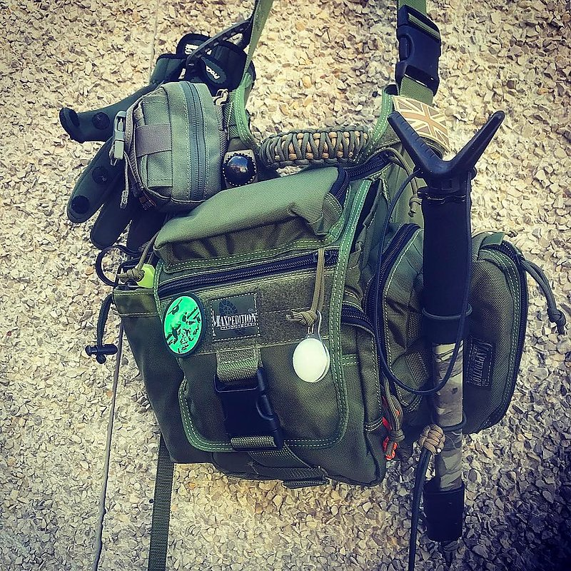 MAXPEDITION TAN 狼棕色 Jumbo (大)多功能側背鞍袋包 工具包 斜背包 郵差包 急救包