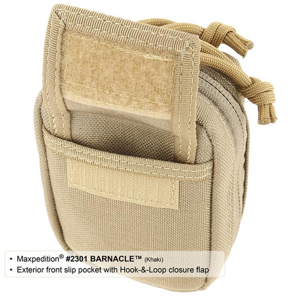 MAXPEDITION 黑色 Barnacle 機能小腰包 工具包 相機包 配件包