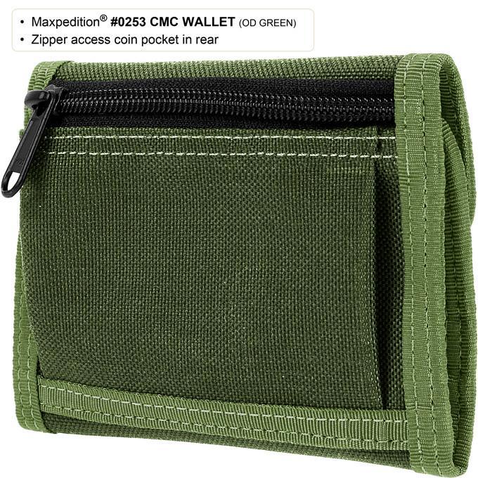 MAXPEDITION TAN 狼棕色 C.M.C. 多功能錢包 皮夾 車票夾 證件袋 護照袋