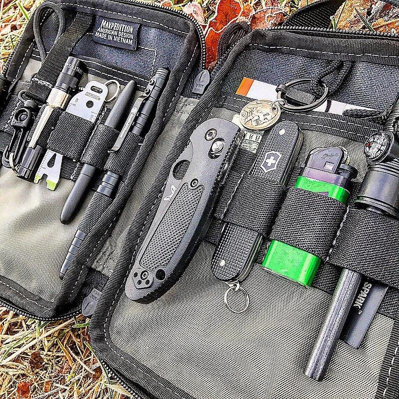 MAXPEDITION 黑色 口袋型  隨身收納包 模組化 手提工具包