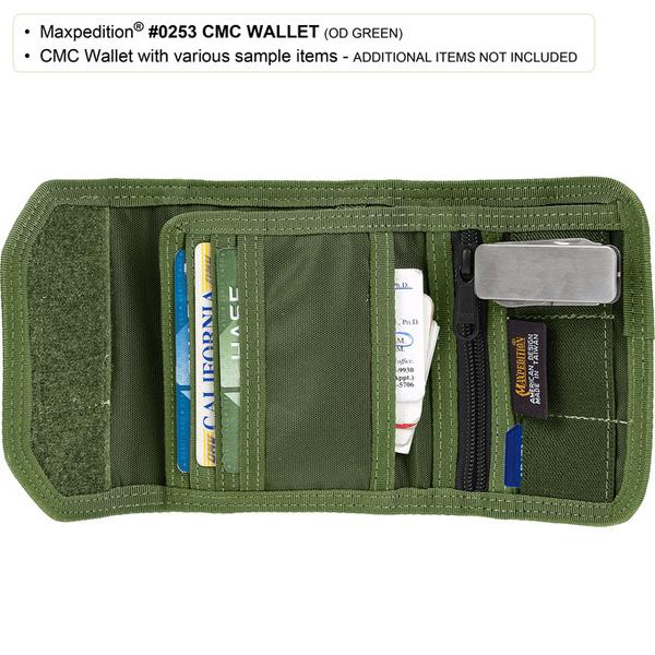MAXPEDITION FG色 C.M.C.多功能錢包 皮夾 車票夾 證件袋 護照袋